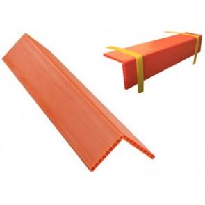 Προστατευτική γωνία πορτοκαλί διαστάσεις 600x190x190x19mm