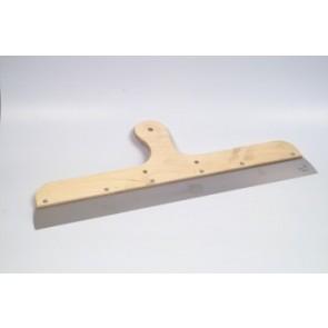 Ανοξείδωτη σπάτουλα ξυσίματος με ξύλινη λαβή 500mm